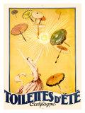 Toilettes d'Eté Giclée par Jean-Gabriel Domergue