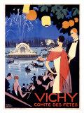 Vichy, comité des fête Giclée