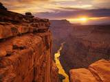 Grand Canyon vu de Toroweap Point Papier Photo par Ron Watts