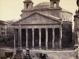 Rome's Pantheon General View
