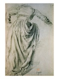 Study of a Draped Woman