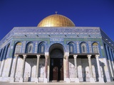 Exterior and Front View of Dome of the Rock