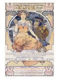 Exposition universelle et internationale de St Louis, 1904 Giclée par Alphonse Mucha