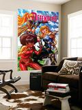 Fearless Defenders 9 Cover: Misty Knight  Valkyrie  Bloodstone  Elsa  Moonstar