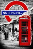 Dual Torn Posters Series - London