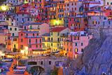 Manarola, Cinque Terre, Italy Papier Photo par TessarTheTegu