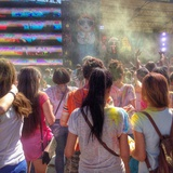 Holi Festival at St Petersburg