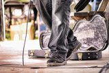 Guitar Case Stage Feet