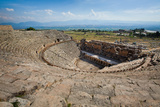 Ruined Amphitheater - Pamukkale  Hierapolis  Turkey