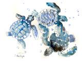Tortues de mer Reproduction d'art par Suren Nersisyan