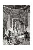 Ricardo De Madrazo (1851-1917) Por A Closs Reproduces a Painting by Madrazo an Arab Model La I