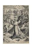 Saint Francis Recieving the Stigmata  1586