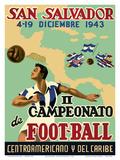 San Salvador - Il Campeonato de Foot-Ball (2nd Championship Soccer) December 4-19  1943