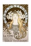 La Plume'  Featuring Sarah Bernhardt  1896