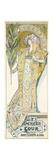 Sarah Bernhardt  American Tour  1895