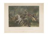 Death of Major Ferguson at King's Mountain  1863