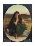 Ruth Revenant Des Champs (Ruth En Repos)  1868