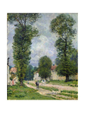 The Road to Marly-Le-Roi  or the Road to Versailles  1875