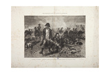 The Burial of the Flag  Episode of the Battle of Waterloo  Engraved by Jules Claretie