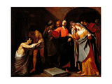 The Raising of Lazarus  C1630