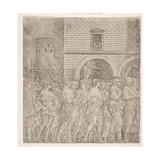 The Senators  from 'The Triumph of Julius Caesar  C1495