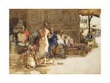 A Cairo Coffee Stall  1881