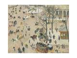 La Place Du Théâtre Français  1898