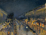 The Boulevard Montmartre at Night  1897
