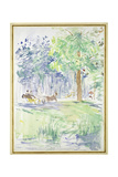 Horse and Carriage on a Woodland Road  after 1883 (Watercolour on White Wove Paper)