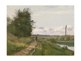 The Banks of the Seine at Bougival  1864