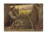The Old Gardener  1863