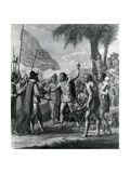 An Indian Cacique of the Island of Cuba Addressing Columbus (1451-1500) Concerning a Future State