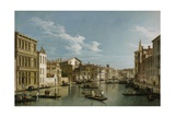 Grand Canal from Palazzo Flangini to Palazzo Bembo  C1740