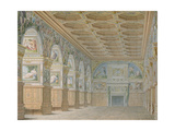 Ms 1014 the Ballroom at Fontainebleau  Plate from an Album