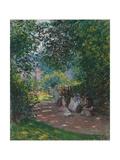 In Monceau Park  1878
