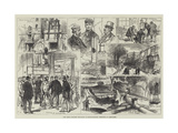 The Great Colliery Explosion in Monmouthshire  Sketches at Abercarne