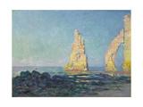 The Needle of Etretat  Low Tide; Aiguille D'Etretat  Maree Basse  1883