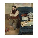 Portrait of Diego Martelli  1879