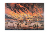 The Great Fire of Chicago  1871