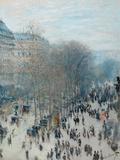 Boulevard Des Capucines  1873-4