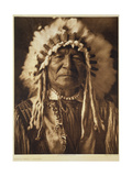 Sitting Bear - Arikara  1908  Photogravure by John Andrew and Son (Photogravure)