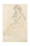 Seated Child  1916