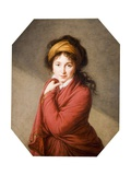 Portrait of the Countess Nikolai Nikolaevich Golovin  1797-1800