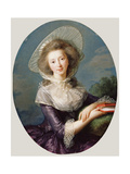 The Vicomtesse De Vaudreuil  1785