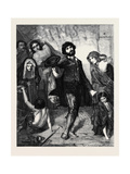 Beggars at a Church Door at Rome  at the Exhibition of the Institution of Fine Arts