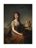 Portrait of Anna Pitt  as Hebe  1792