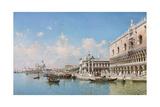 The Doge's Palace and Santa Maria Della Salute  1896