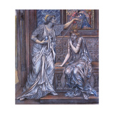 Finished Study for Queen Eleanor and Fair Rosamund  C1900-5 (Chalk) (See 27988)