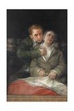 Self-Portrait with Dr Arrieta  1820