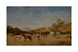 An Arabian Camp  1873